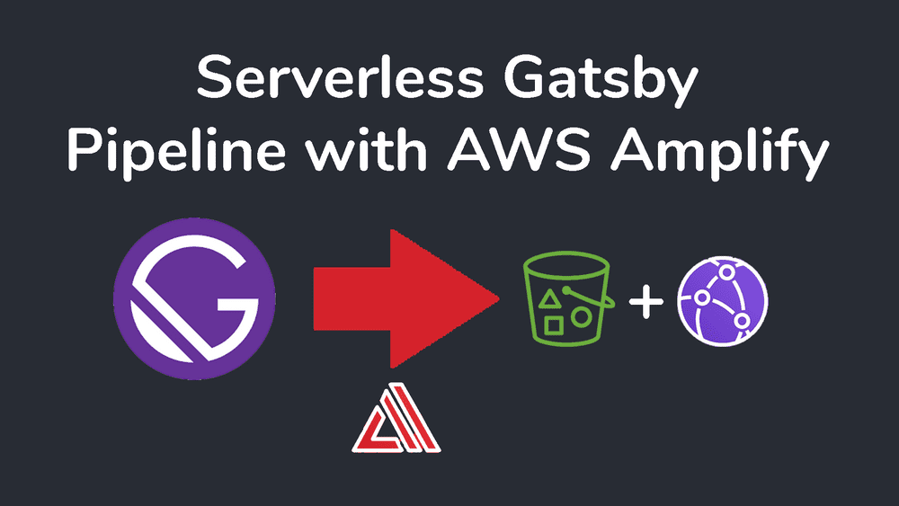 Serverless Gatsby Pipeline with AWS Amplify